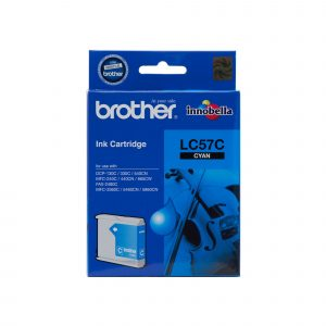 Brother LC57C Cyan Ink Cartridge