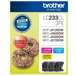 Brother LC233CL3PKS CMY Colour Pack