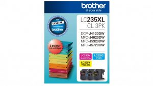 Brother LC235XLCL3PKS Colour Pack