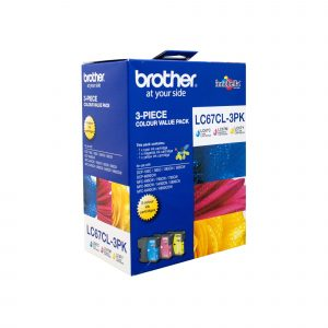 Brother LC67CL3PK CMY Colour Pack