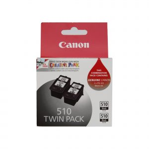 Canon PG510 Black Ink Twin Pack