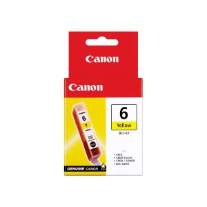 Canon BCI6Y Yellow Ink Tank
