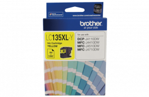 Brother LC135XLY Yellow Ink Cartridge