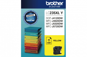 Brother LC235XLYS Yellow Ink Cartridge