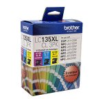 Brother LC135XLCL3PK CMY Colour Pack