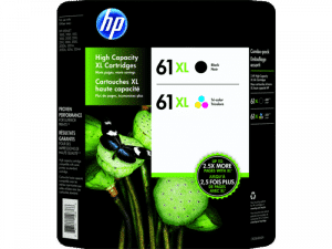 HP 61XL Ink Photo Value Pack