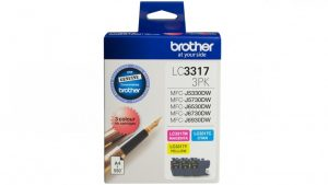 Brother LC33173PK CMY Colour Pack
