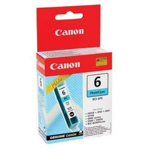 Canon BCI6PC Photo Cyan Ink Cartridge