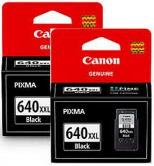 Canon PG640XXL Black Twin Pack