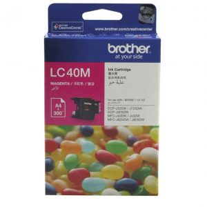 Brother LC40M Magenta Ink Cartridge