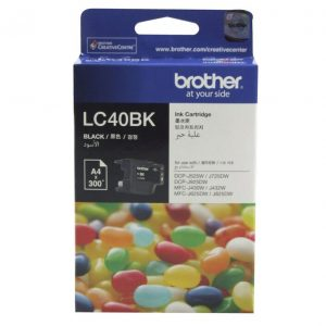 Brother LC40BK Black Ink Cartridge