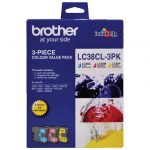 Brother LC38CL3PK CMY Colour Pack