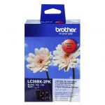 Brother LC39BK2PK Black Twin Pack