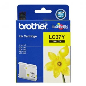 Brother LC37Y Yellow Ink Cartridge