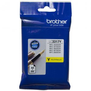 Brother LC3317Y Yellow Ink Cartridge