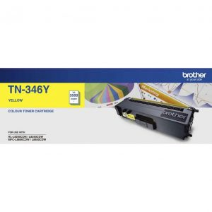Brother TN346 Yellow Toner Cartridge