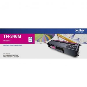 Brother TN346 Magenta Toner Cartridge