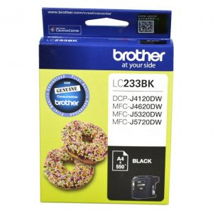 Brother LC233BKS Black Ink Cartridge
