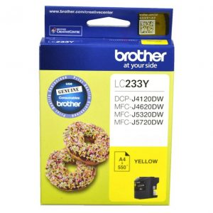 Brother LC233YS Yellow Ink Cartridge