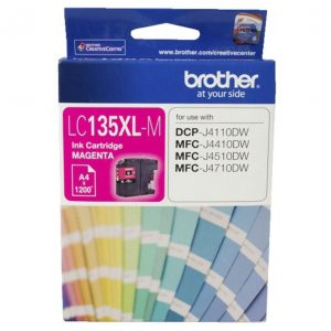 Brother LC135XLM Magenta Cartridge