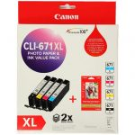 Canon CLI671XL Value Pack