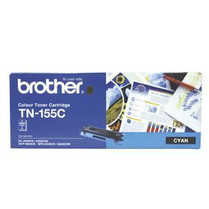 Brother TN155 Cyan Toner Cartridge