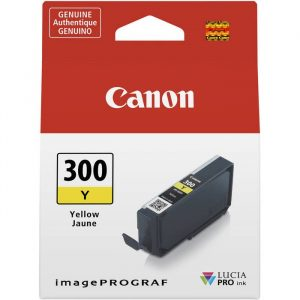 Canon PFI300 Yellow Ink Tank