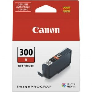 Canon PFI300 Red Ink Tank